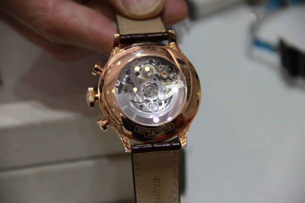 Capeland série limitée en or rose, n°1 sur 100, 16500 euros