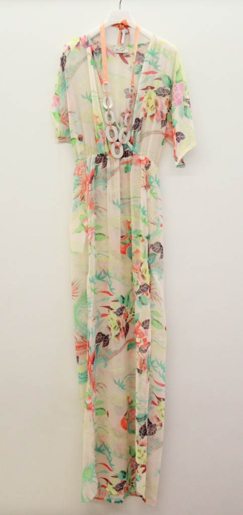 Robe longue, inspiration bohème, 160 euros