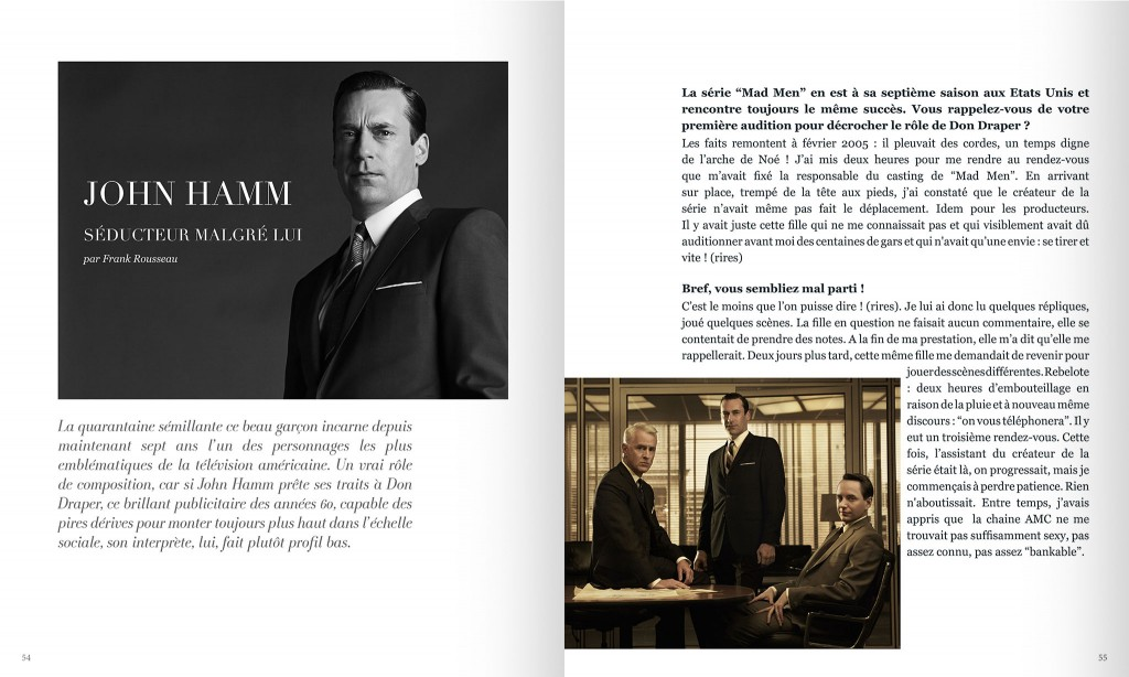 FIRSTLUXE Signature été 2014 - Jon Hamm