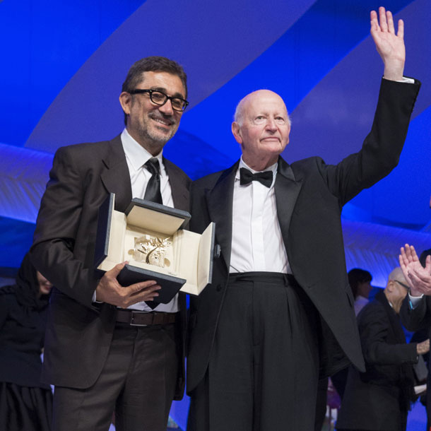 It was an emotional award ceremony at Cannes with long time president Gilles Jacob stepping down.