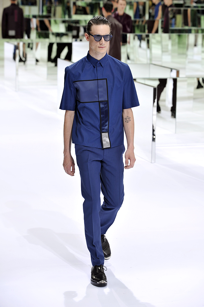 LOOK 29 SS14 Dior Homme by Patrice Stable