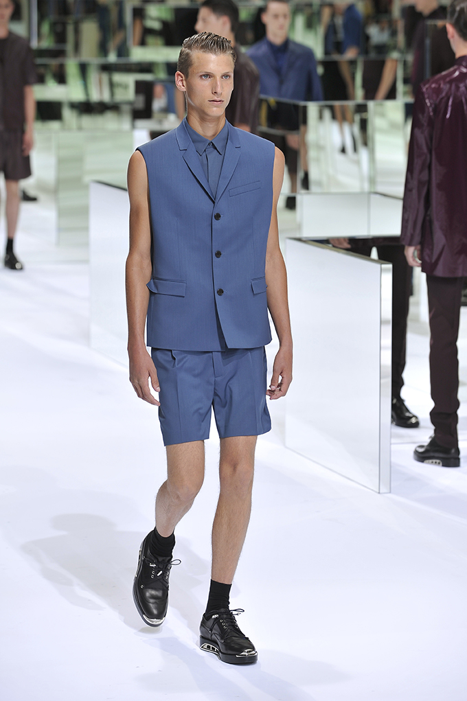 LOOK 35 SS14 Dior Homme by Patrice Stable