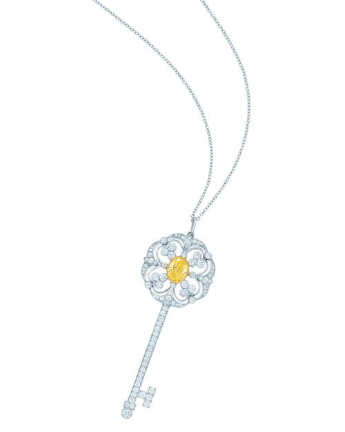 Tiffany-Keys, diamant jaune et diamants blancs Prix sur demande