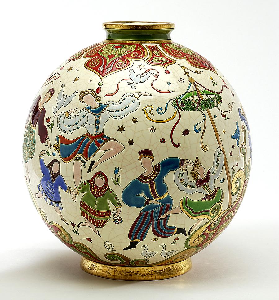 Vase coloniale, collection Petrouchka - Jean Boggio