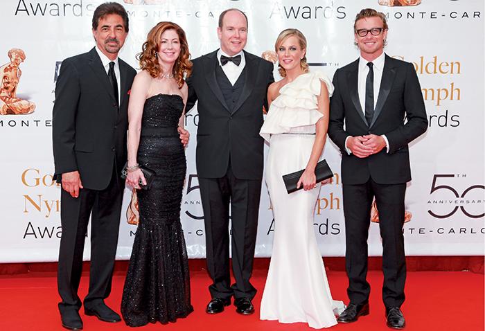 Joe Mantegna, Dana Delany, SAS Le Prince Albert II, Julie Benz, Simon Baker