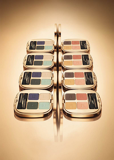 the eye shadow quad_Summer Glow_creative pack shot_low res