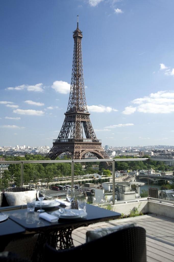 Vue Tour Eiffel Suite Shangri-La - Shangri-La Hotel Paris