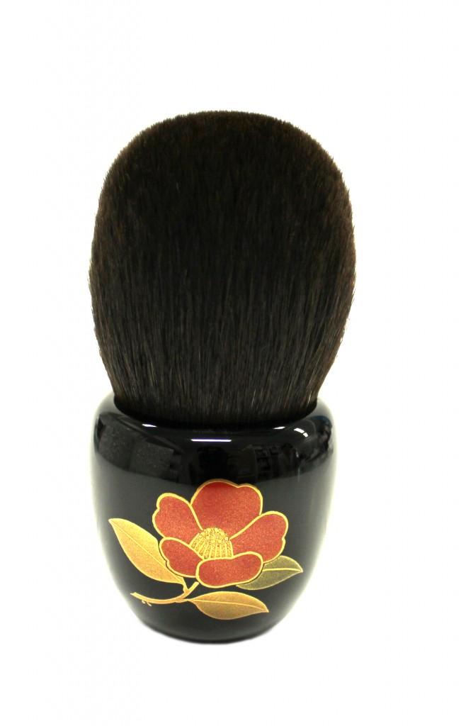 HAKUHODO Pinceau poudre, poils d'ecureuil et porcelaine, 1500e, en exclu  pour l expo Le Japon Rive Gauche
