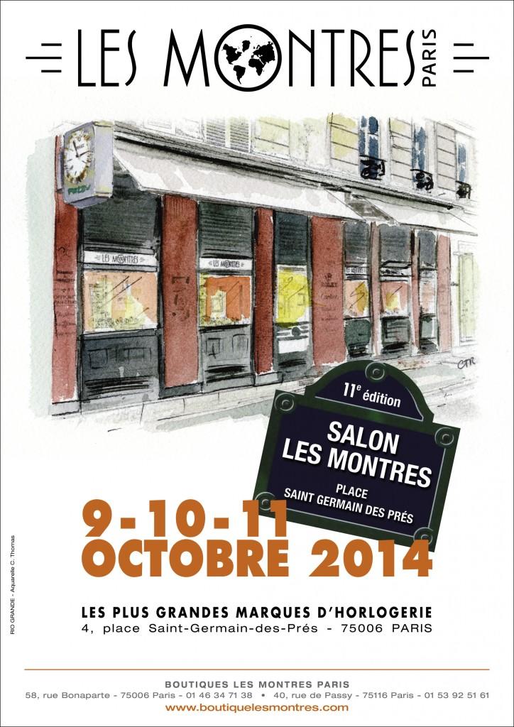 Affiche Salon les Montres 2014 HD