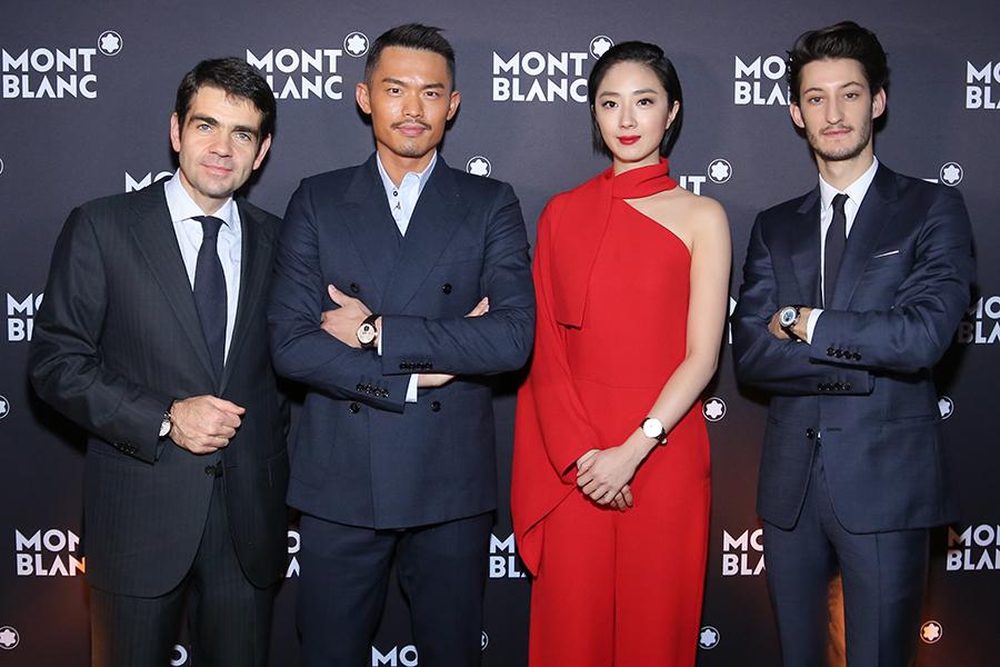 Jerome Lambert, Lin Dan, Guey Lun Mei, Pierre Niney