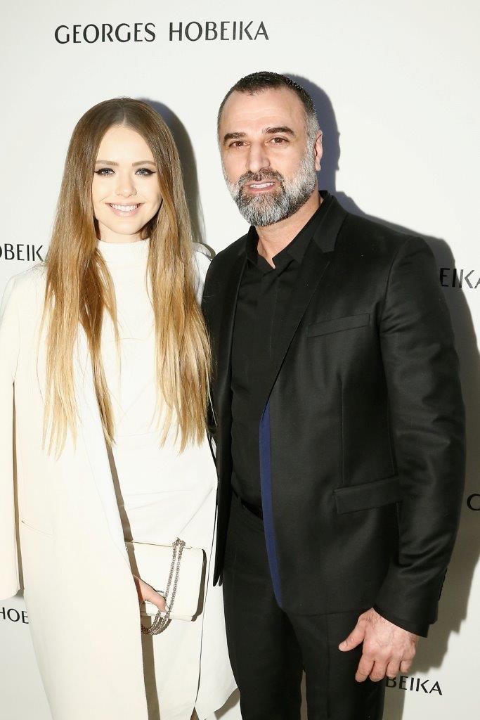 Kristina Bazan et Georges Hobeika