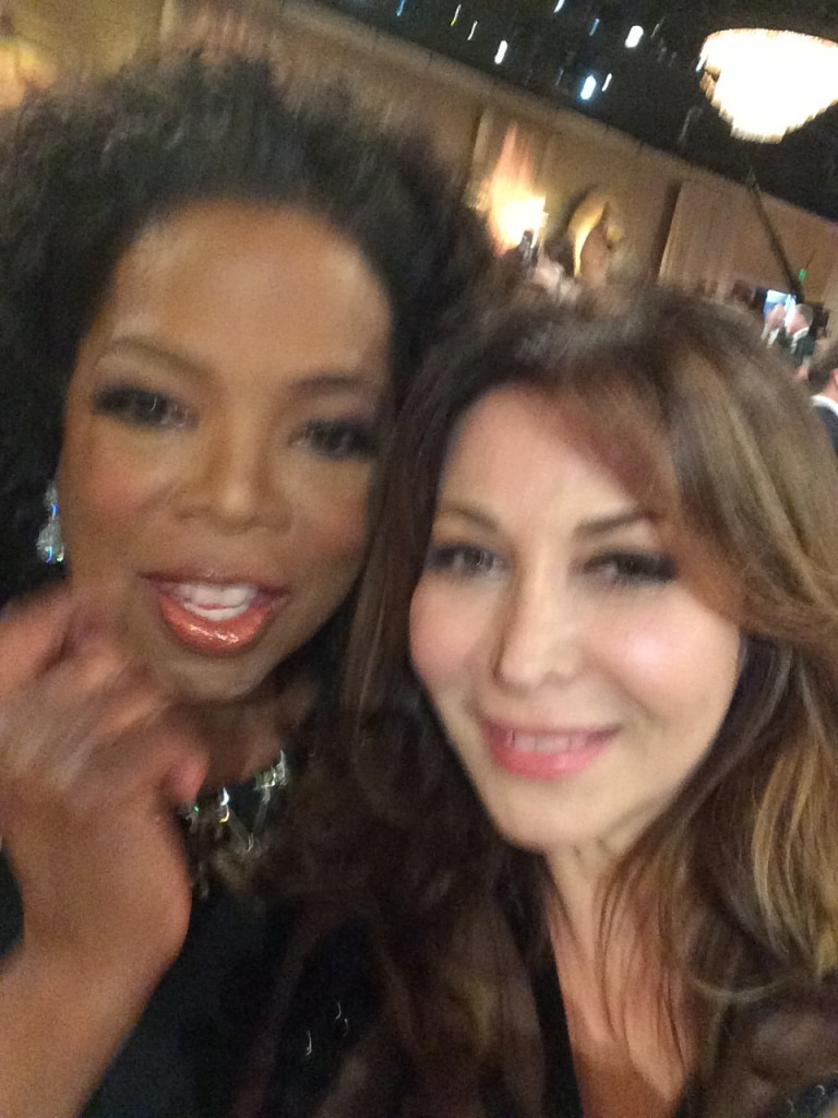 Selfie Oprah Winfrey