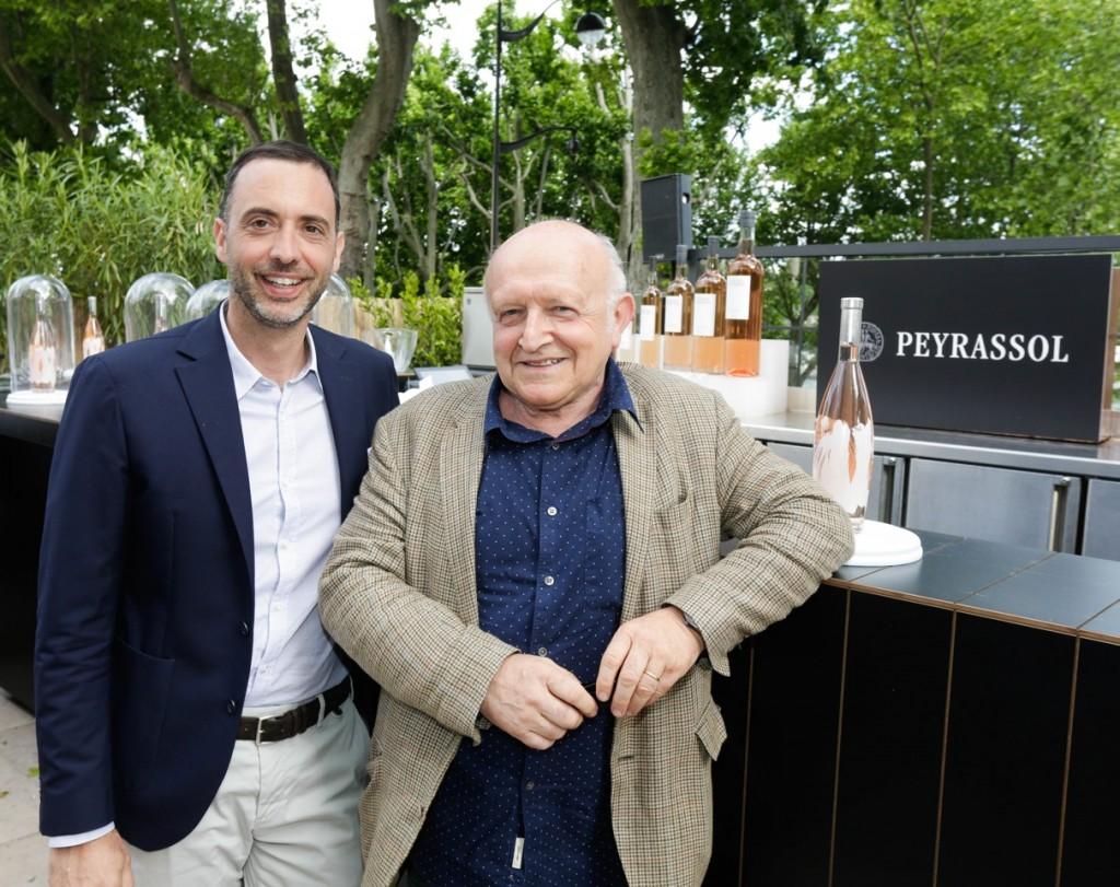 _Terrasse Peyrassol Mr Bleu Alban Cacaret et Bertrand Lavier