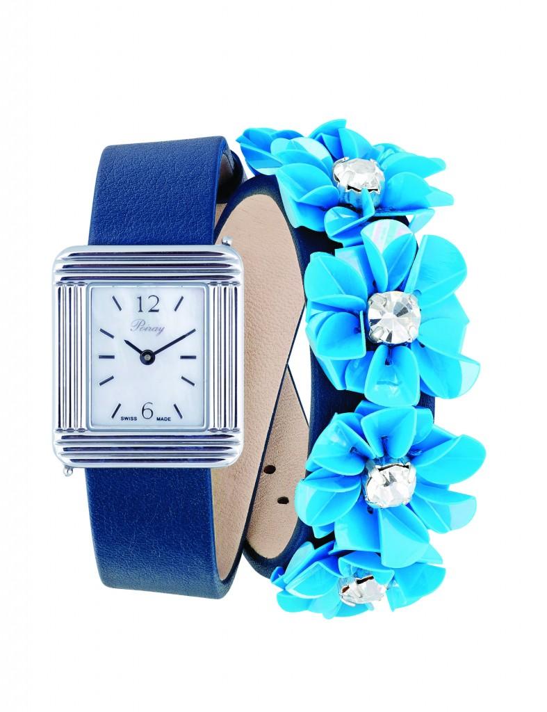 Montre Carven Bleu V1