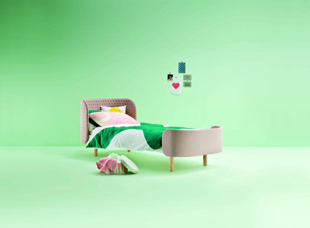 Softly single bed - Dot & Cross - 1043€
