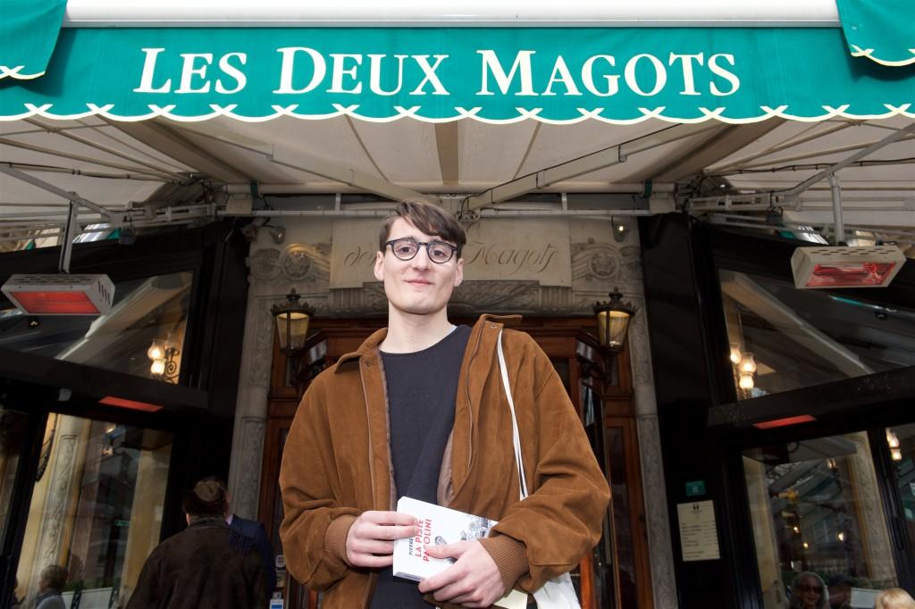 83ème Prix Littéraire Les Deux Magots.  Paris, le 26 janvier 2016. © Julio Piatti