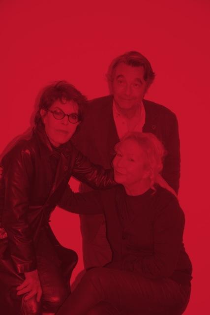 Agnès b, Dani et Christian Tortu
