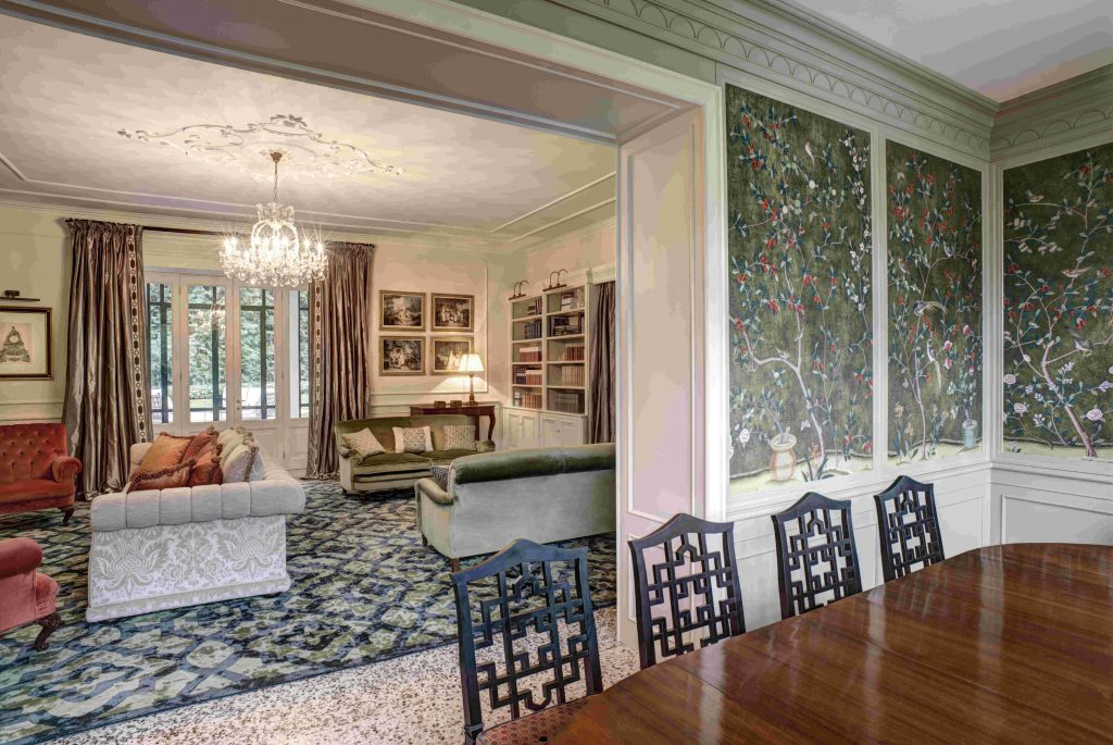 Villa Garrovo, Lining-room
