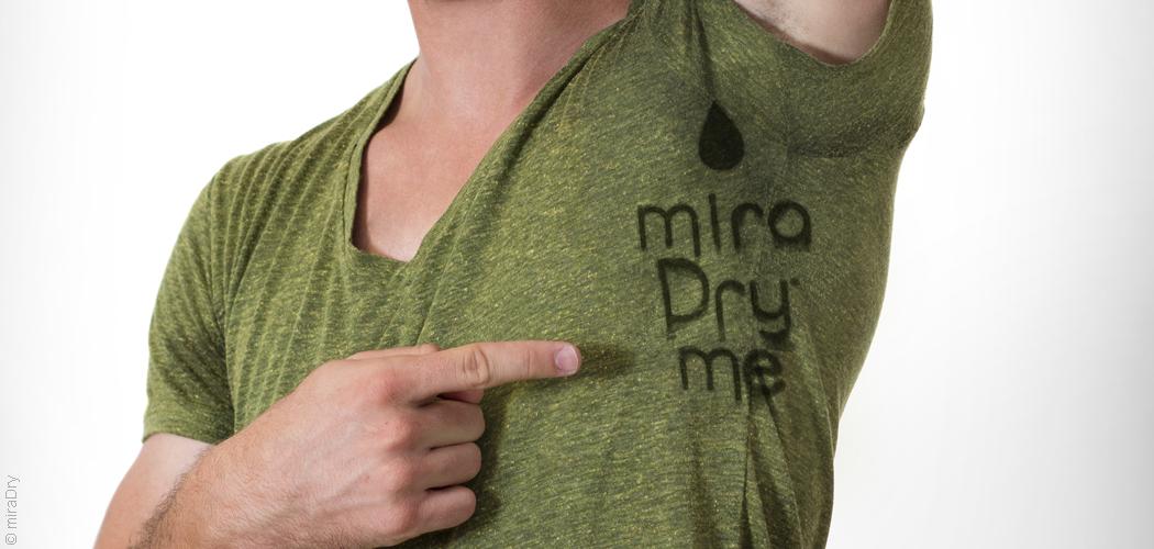 Stop à la transpiration avec miraDry