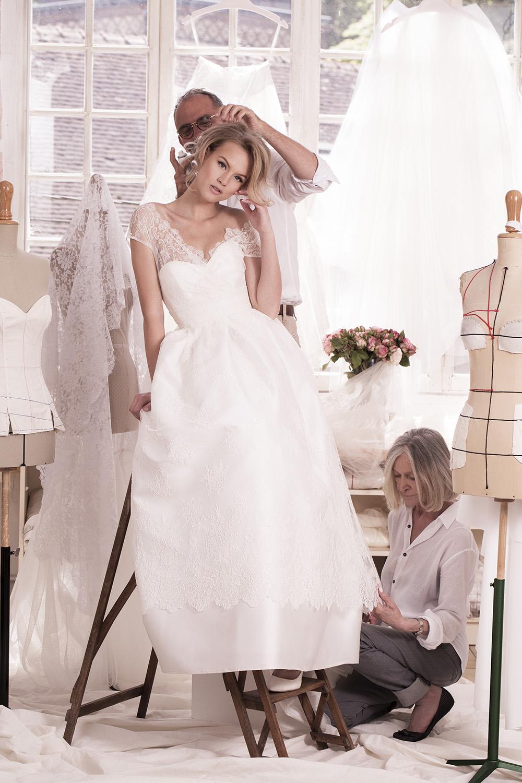 3 soeurs creatrices de robe de mariee