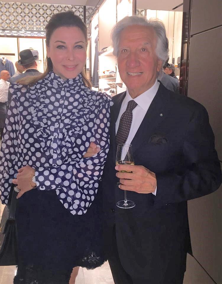 Eva Benhamou-Haziza, Présidente de Firstluxe et Mr Corneliani