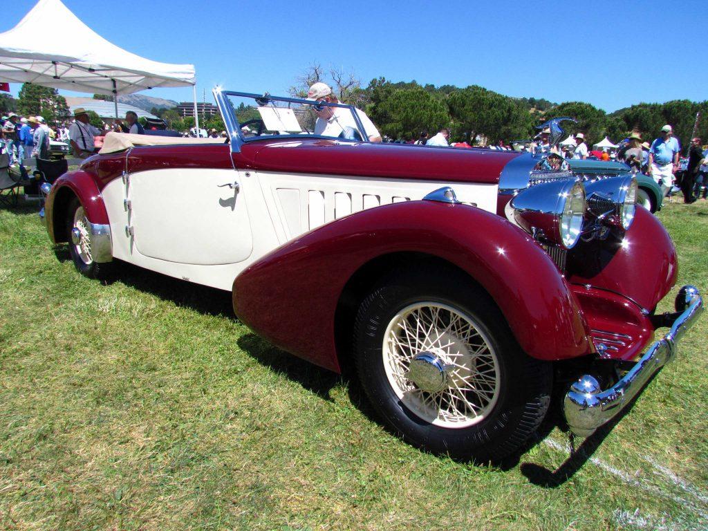 1936 Hispano-Suiza K6 Convertible, coachwork by Pourtout - David Berry