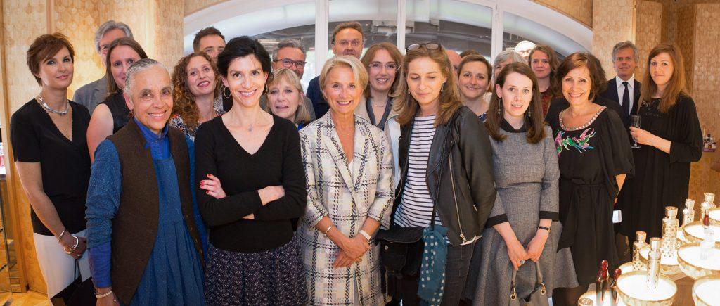 Membres du jury et lauréats des Abeilles de Guerlain