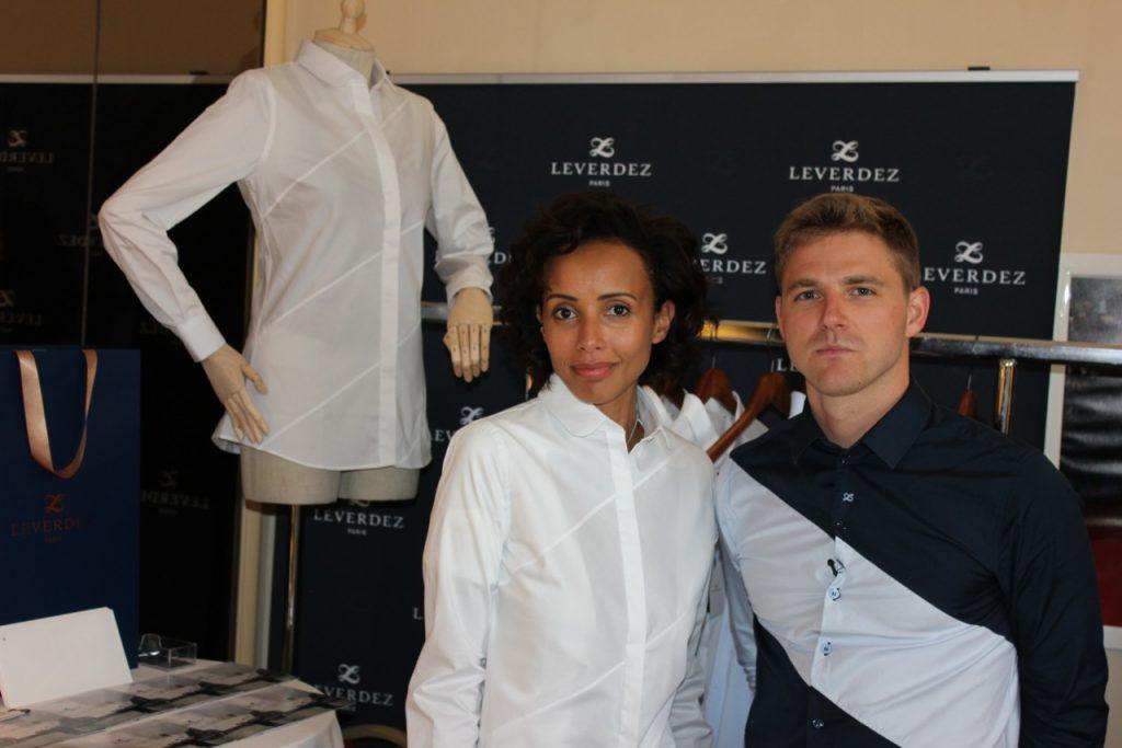 Sonia Rolland et Brice Leverdez à Cannes - Suite DPA/Carlton