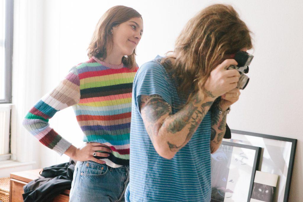 Alexa Chung et le photographe Ben Rayner