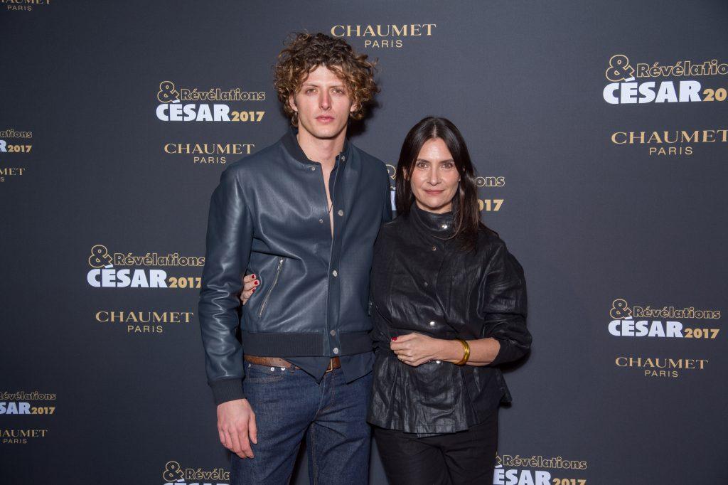 Cesar Chouraqui et Geraldine Pailhas  - Soiree des Revelations dans les Salons Chaumet
