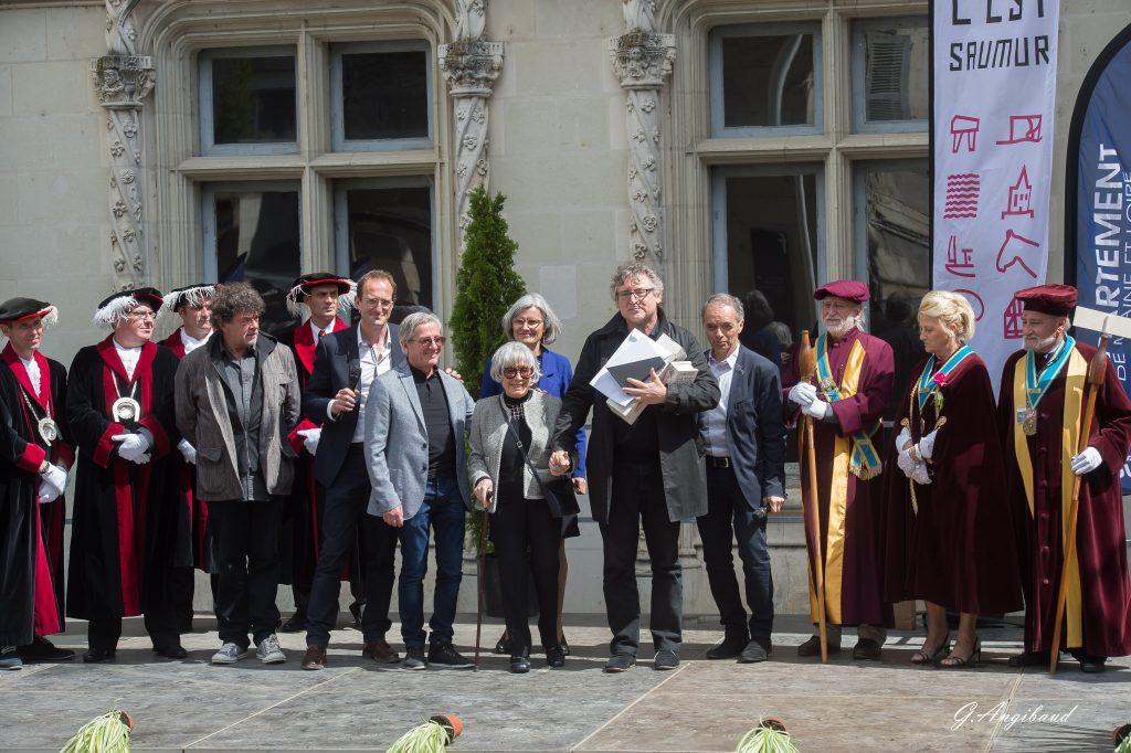 Remise du prix François Morellet à Michel Onfray