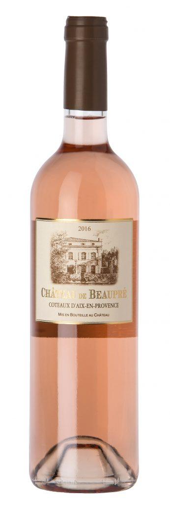 Château de Beaupré, Château de Beaupré rosé. 80 % grenache, 10 % syrah, 10 % cinsault. 9,70 euros départ cave. www.beaupre.fr