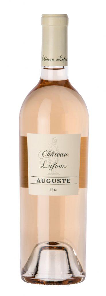 Château Lafoux, Auguste. 80 % cinsault, 20 % grenache. Certifié bio. 11 euros départ cave. www.chateaulafoux.net