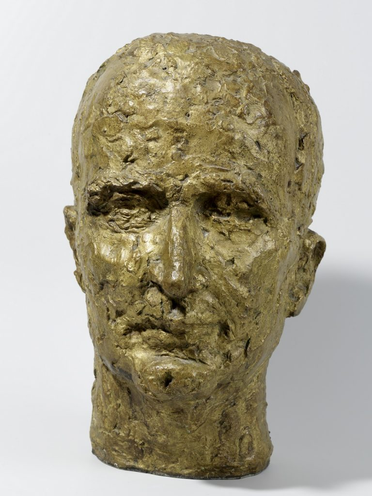 Etienne HAJDU (István Hajdu, dit) (1907 –1996) Georges Pompidou, 1953-1954 Bronze 36 x 22 x 27 cm Collection Alain Pompidou Crédit photo : © David Bordes © Adagp, Paris, 2017