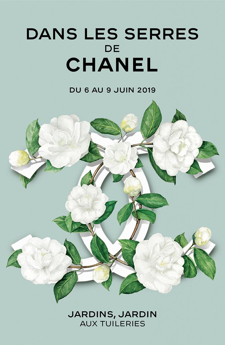 Dans les Serres de Chanel au Jardin des Tuileries | FIRSTLUXE